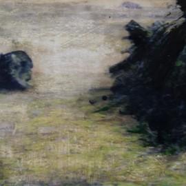 Bois noir – 2012 – 50×75 cm